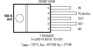 REGOLATORE di tensione lineare TO-220 con fogli a transistor e anello di nylon Rondella Pad